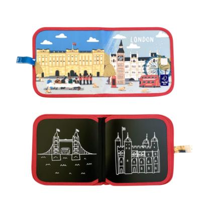 cahier-ardoise-illustré-city-paris-londres-new-york-craies-beurre-créativité-magasin-nantes-bébé