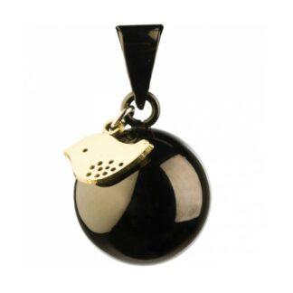 bola-bijou-grossesse-argent-musical-cordon-cuir-maternité-magasin-nantes-bébé-noir-oiseau-or